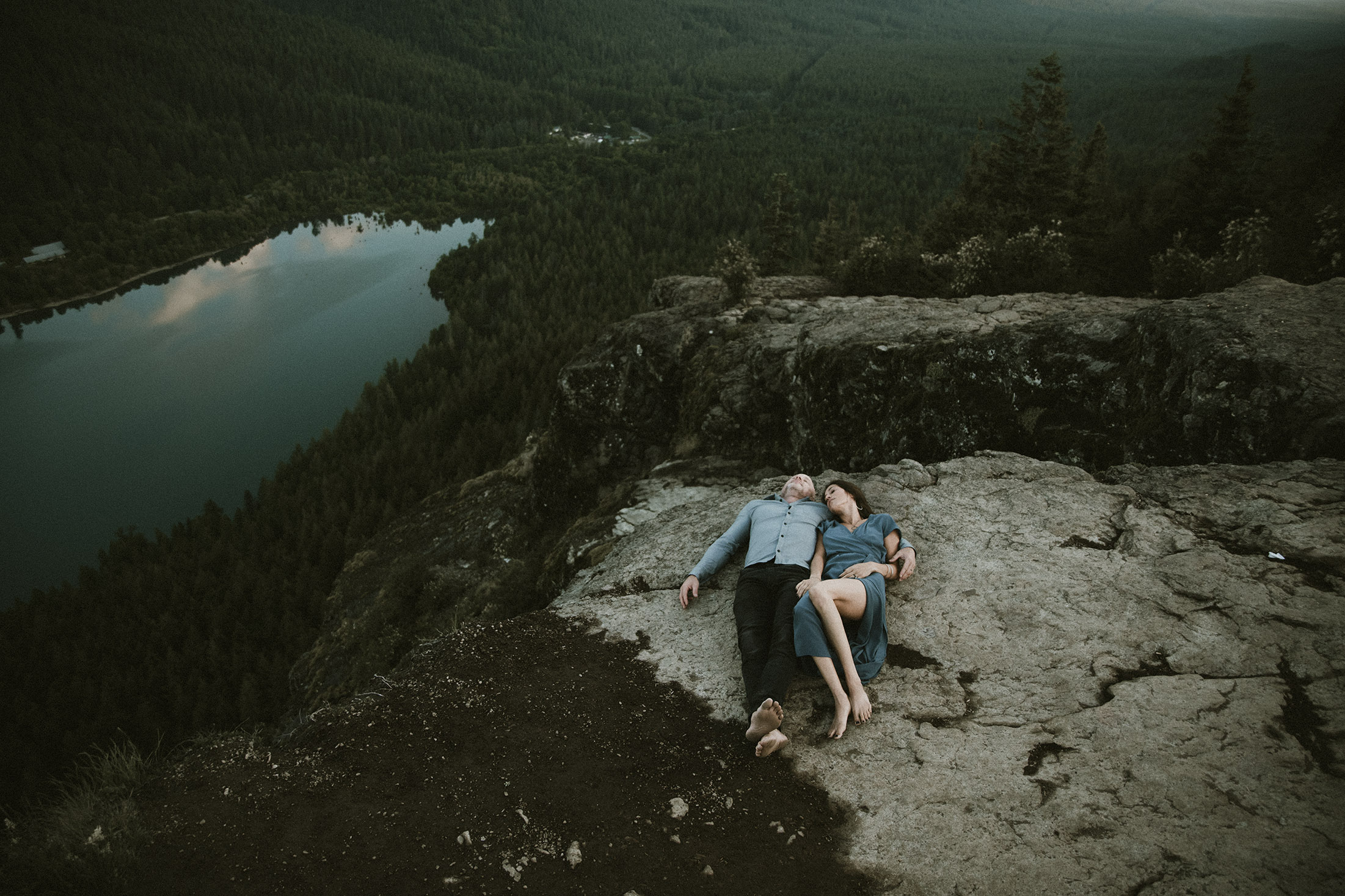 Rattlesnake Lake Engagement Session
