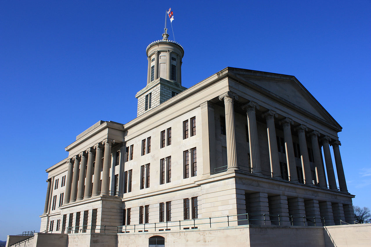 Tennessee State Capitol, Nashville, TN Attribution: Wikimedia Commons