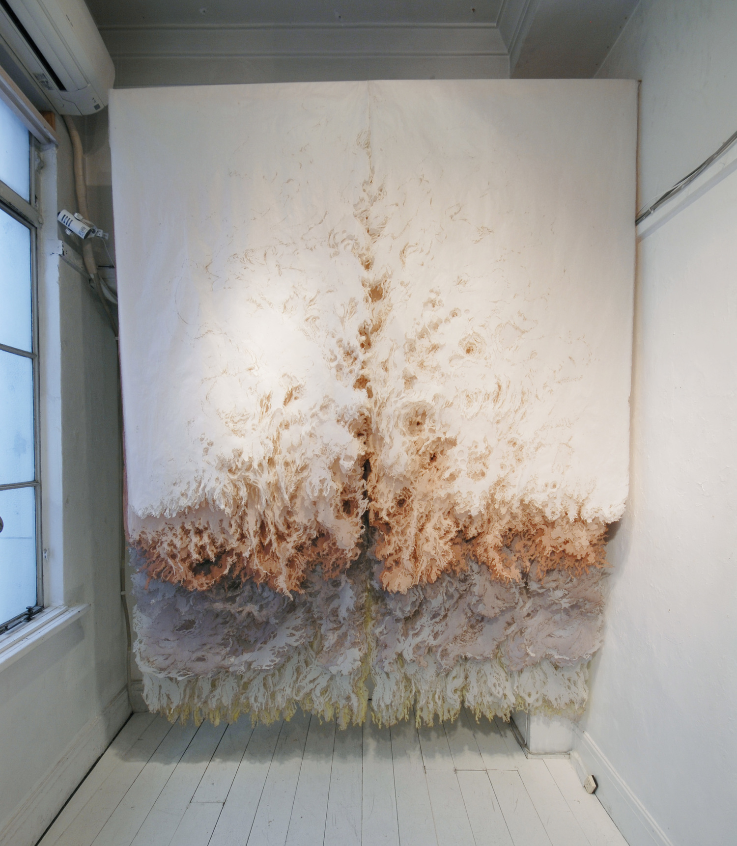 Julie Pereira,  Floating Wall 1.