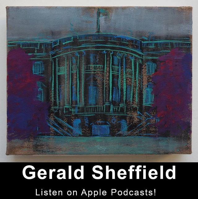 "Listen to Gerald Sheffield's interview with The First Stop podcast!!! 🔥🔥🔥https://www.firststopart.com/blog/2019/1/14/gerald-sheffield  Listen on our website firststopart.com, Apple Podcasts, or your favorite podcasting application. Be sure to subscribe and listen to all of the other amazing interviews!  And go see Gerald's exhibition at New Release Gallery in New York's Chinatown. It's entitled ""Democratic Paradox,"" and it's on view until February 16th! # # # # #geraldsheffield #thefirststop #firststopart #podcast #arts #contemporaryart #painting #artist #interview #artspodcast #newhavenct"