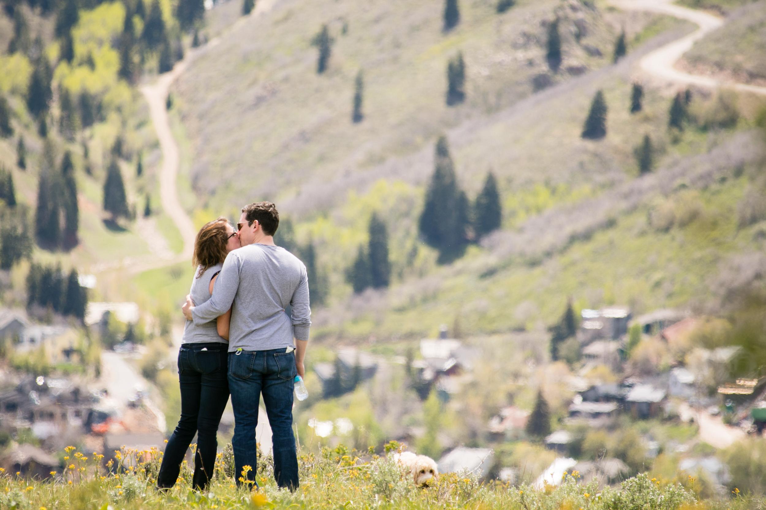 summer mountain proposal - park city | utah