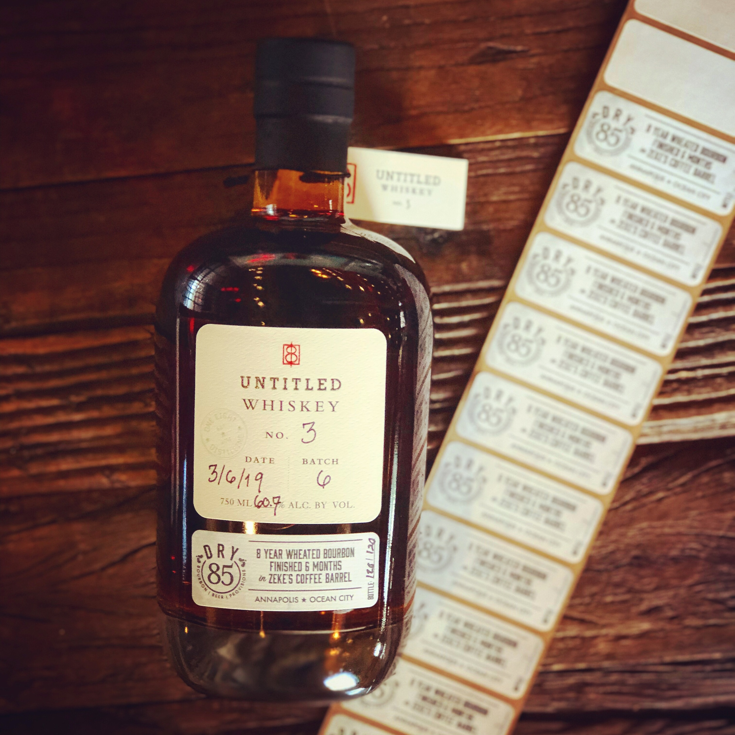 Untitled Whiskey Series - A way to flex our creative muscles and create uncommon spirits for the discerning drinker who believes they've tasted everything. Untitled Whiskeys are only produced in limited quantities and are unlikely to ever be made again.