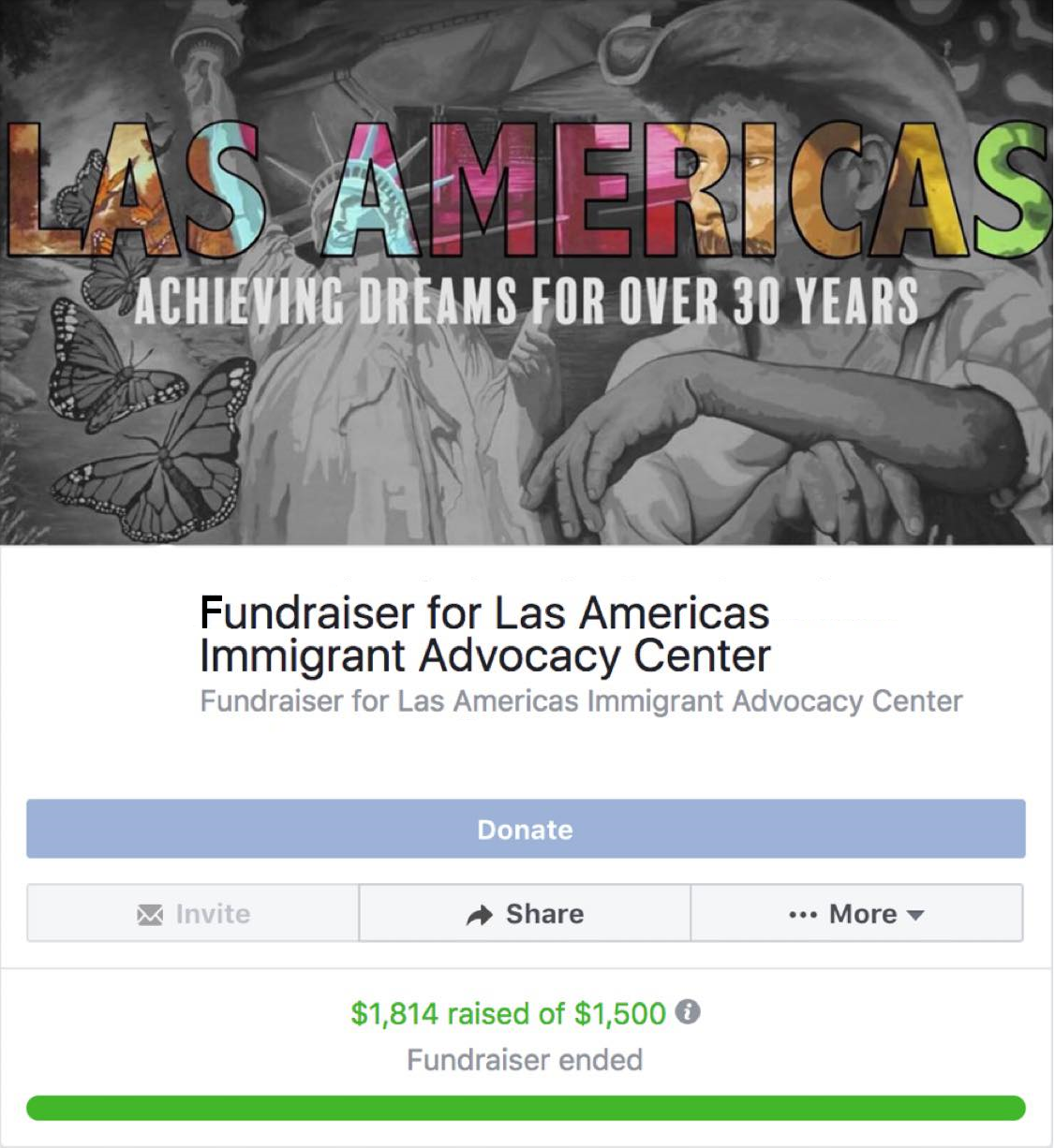 START A FUNDRAISER - Share your passion for immigrant rights and advocacy with your community and help us make a difference today.