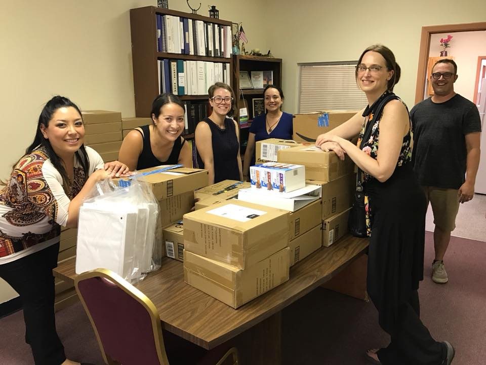 OFFICE SUPPLIES - Like any law firm, Las Americas relies heavily on office supplies to keep our organization running. Consider an in-kind donation of reams of paper and other office supplies to help us advocate for our clients.