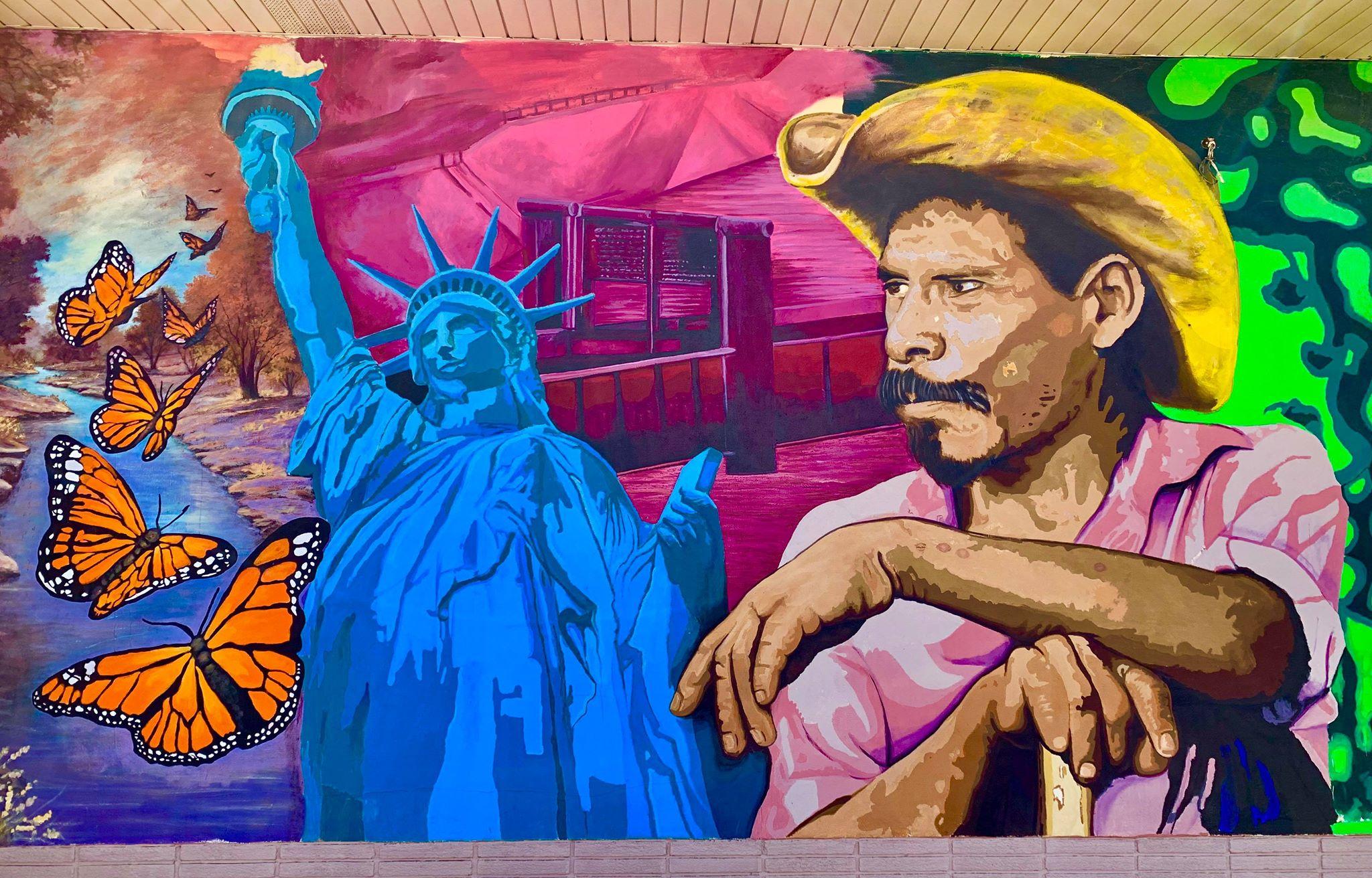 Migrant Mural