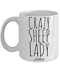 Crazy Sheep Lady Coffee Mug