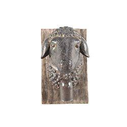 Sheep Head Wall Plaque
