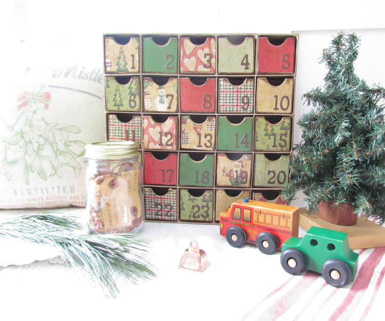 Our Countdown To Christmas Box