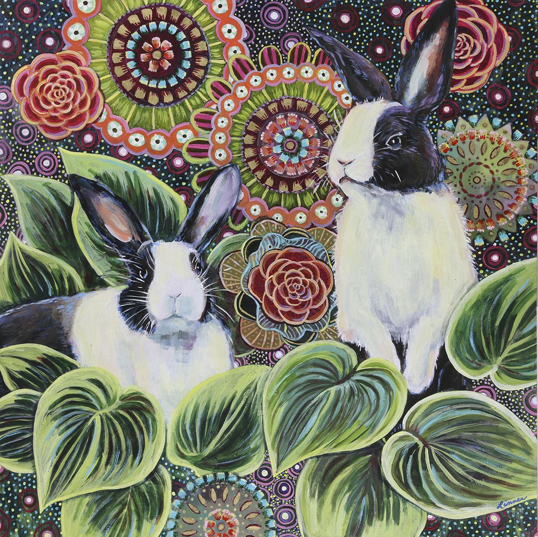 Rabbits in the Garden 180.jpg
