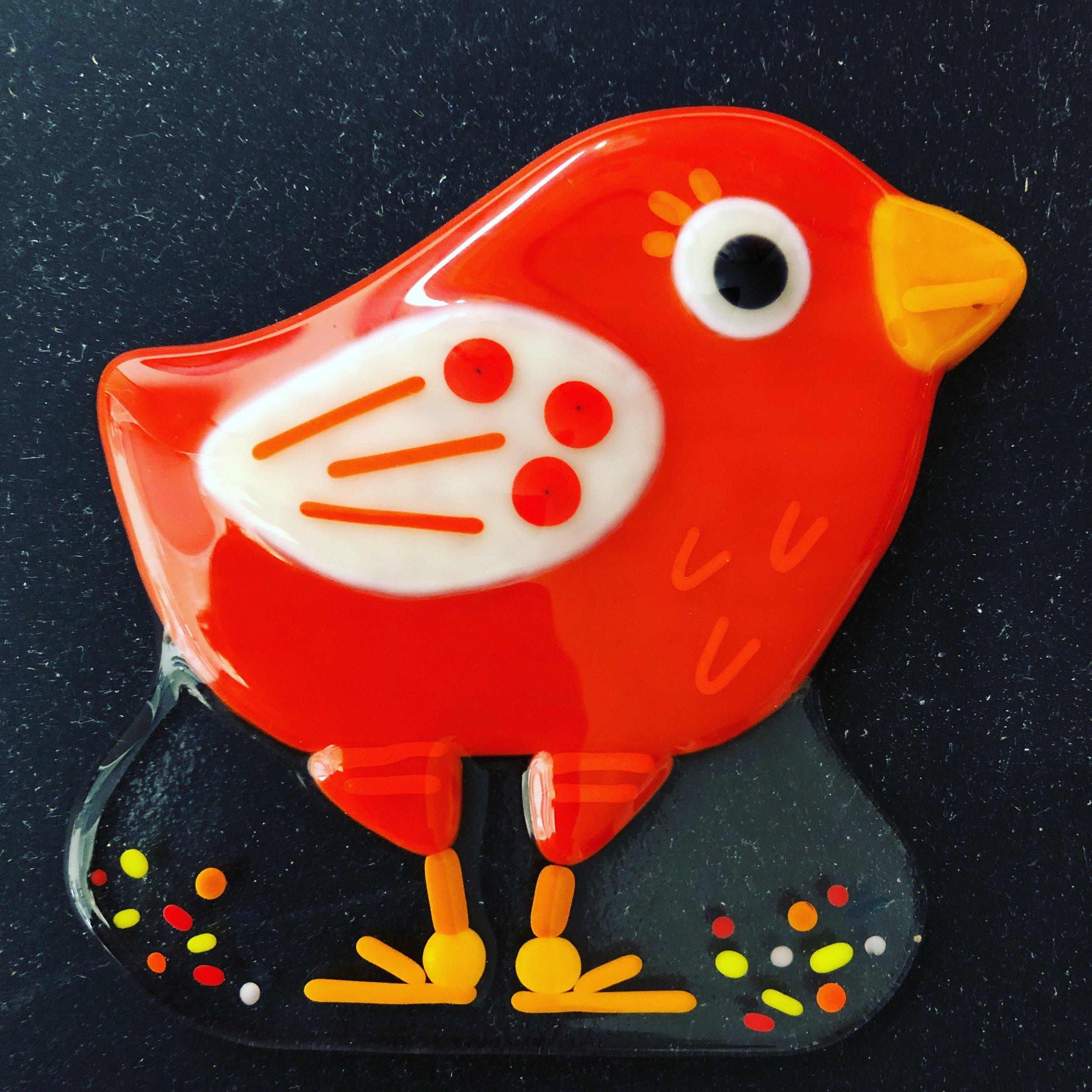 Terri Griffin glass art 3 - redbird.JPG