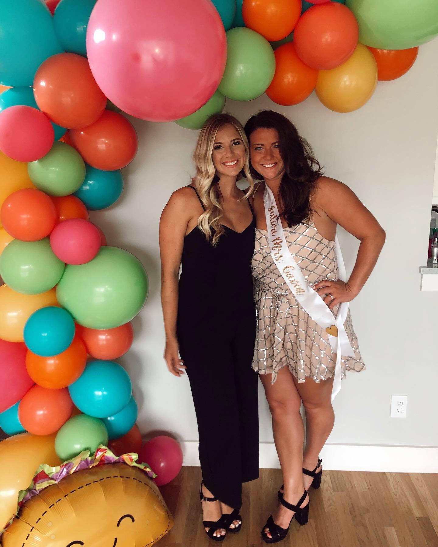 Lushra Balloon Garland Bachelorette Final Fiesta