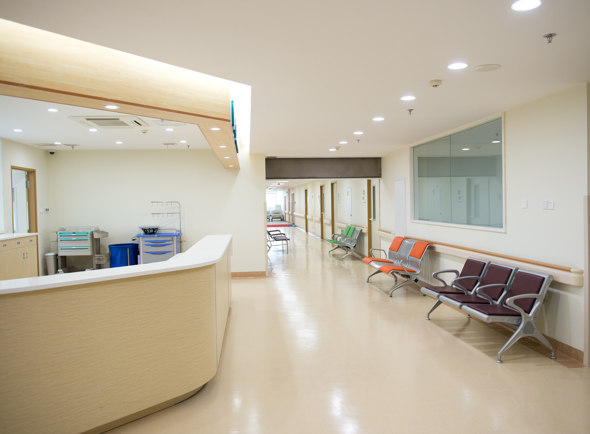 Reception & Waiting Areas: - Clean Entrance GlassArrange & Organize Waiting AreaDry Dust Surfaces (as Specified)Empty Trash and Replace LinersVacuum and Mop Floor Areas