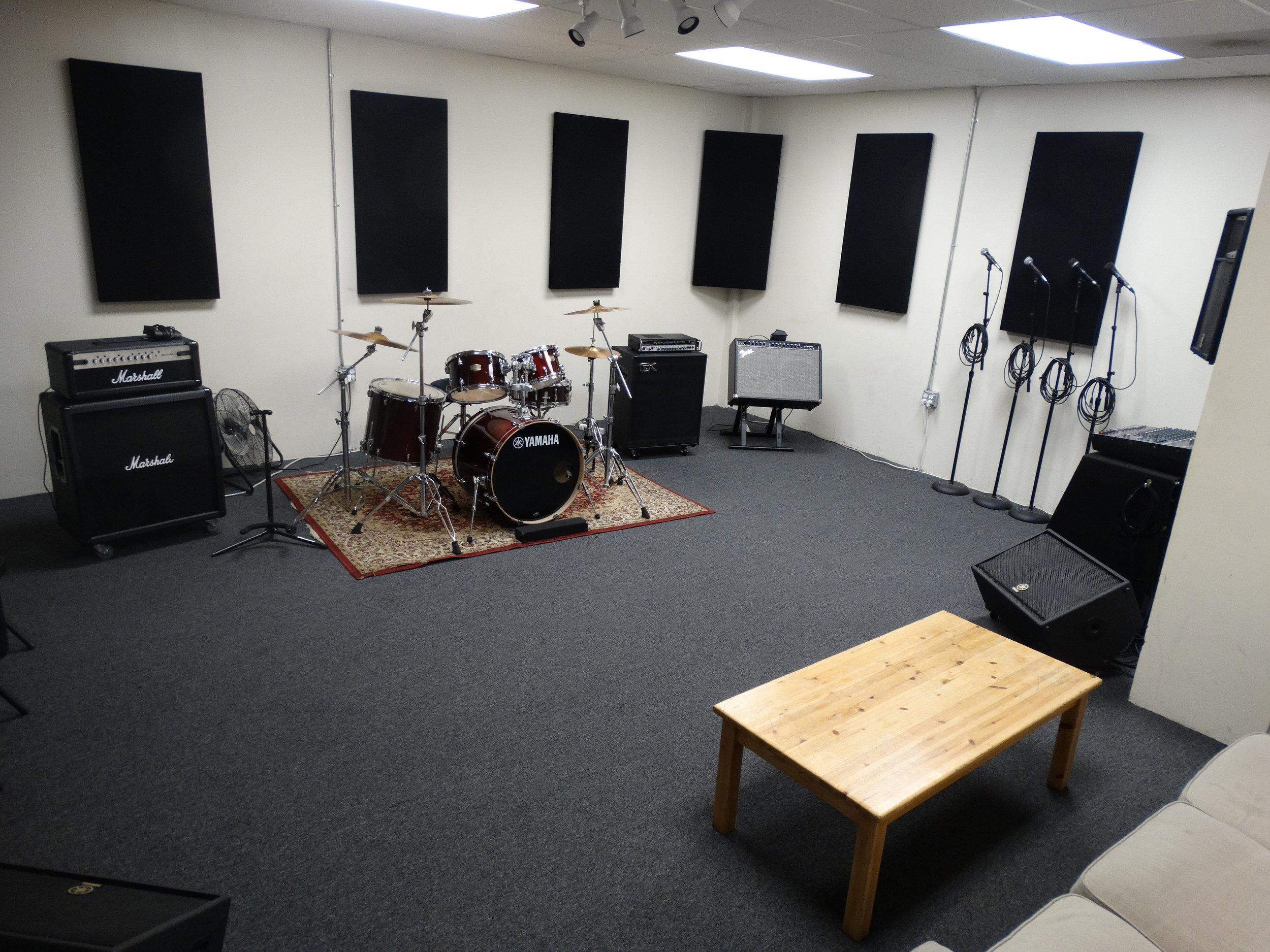 Studio 3 - $27/hour$23/hour day rate M-F 11am-5pm