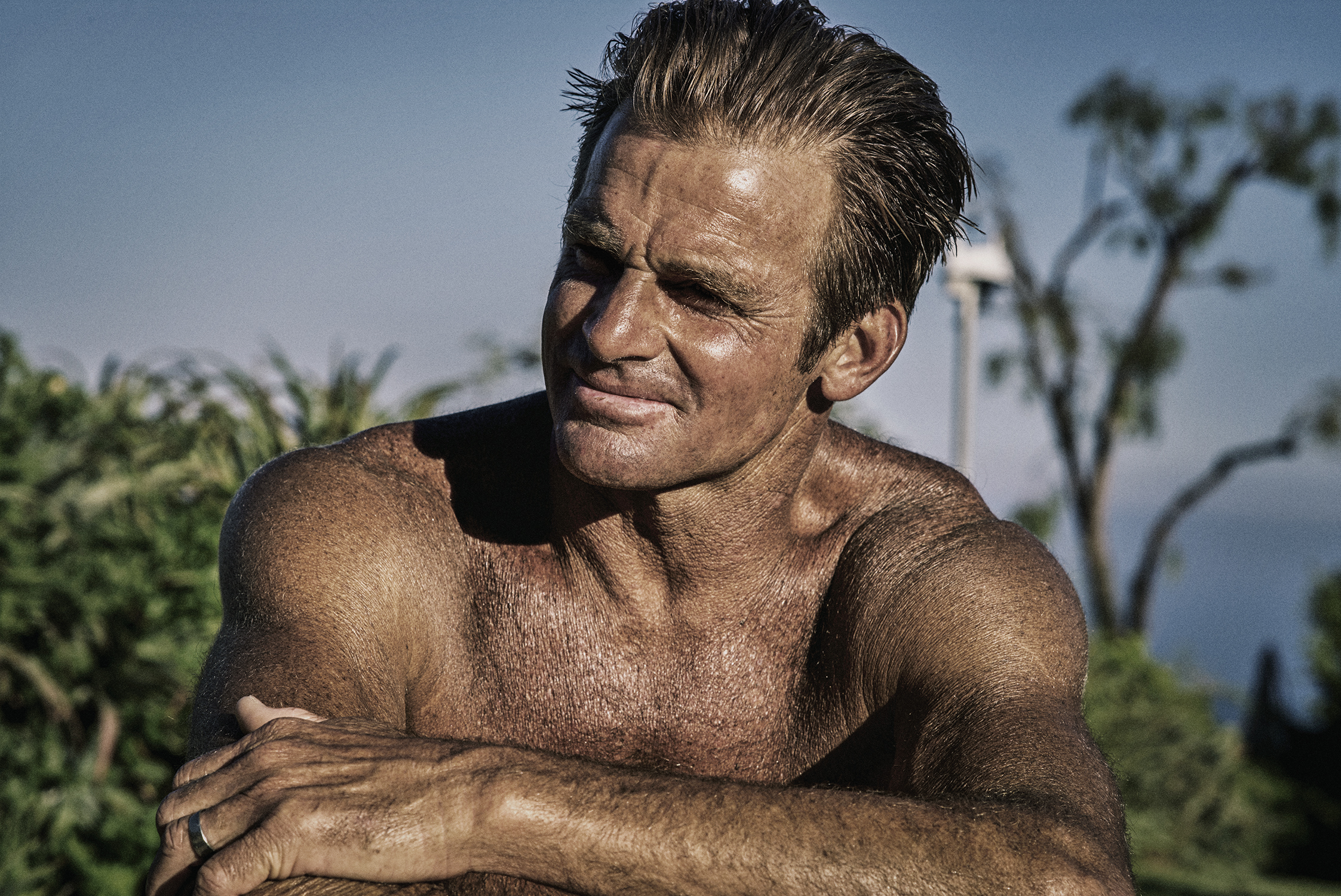 Laird Hamilton - Grooming by Mira Chai Hyde