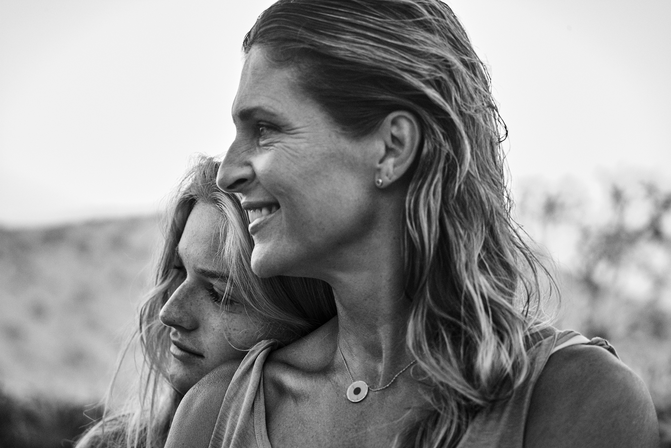 Gabby Reece Hamilton and Daughter - Grooming by Mira Chai Hyde