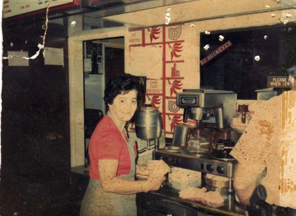 sTELLA, ONE OF OUR ORIGINAL STAFF FROM THE 70'S.