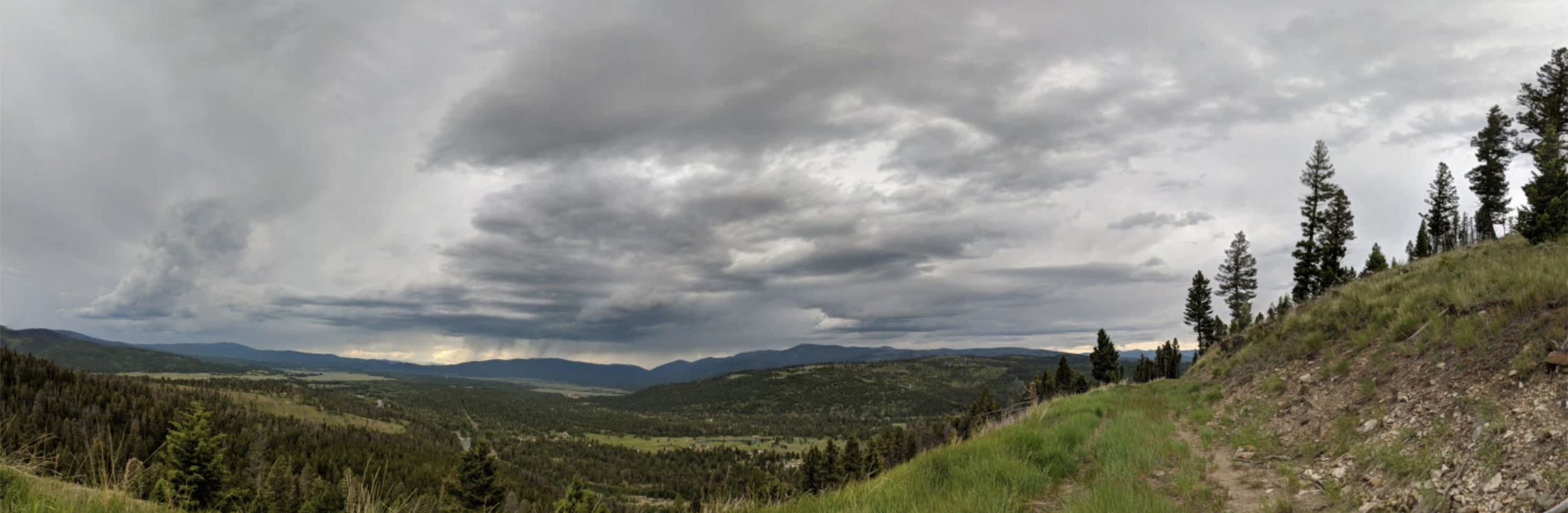 somewhere in the Rocky Mountains – near Lincoln, MT