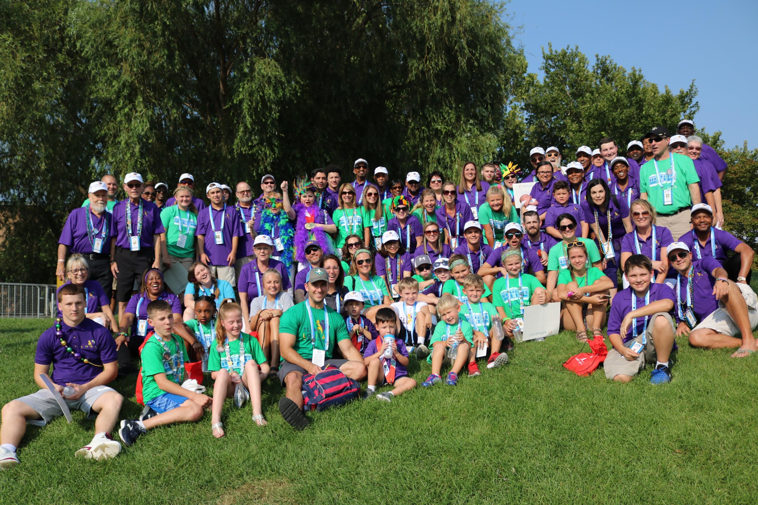 Click on the picture or here for a link to the entire TGA photo album.    The album will be updated with all the pictures captured at the 2018 Transplant Games soon. If you don't see the picture you are looking for, check back often!