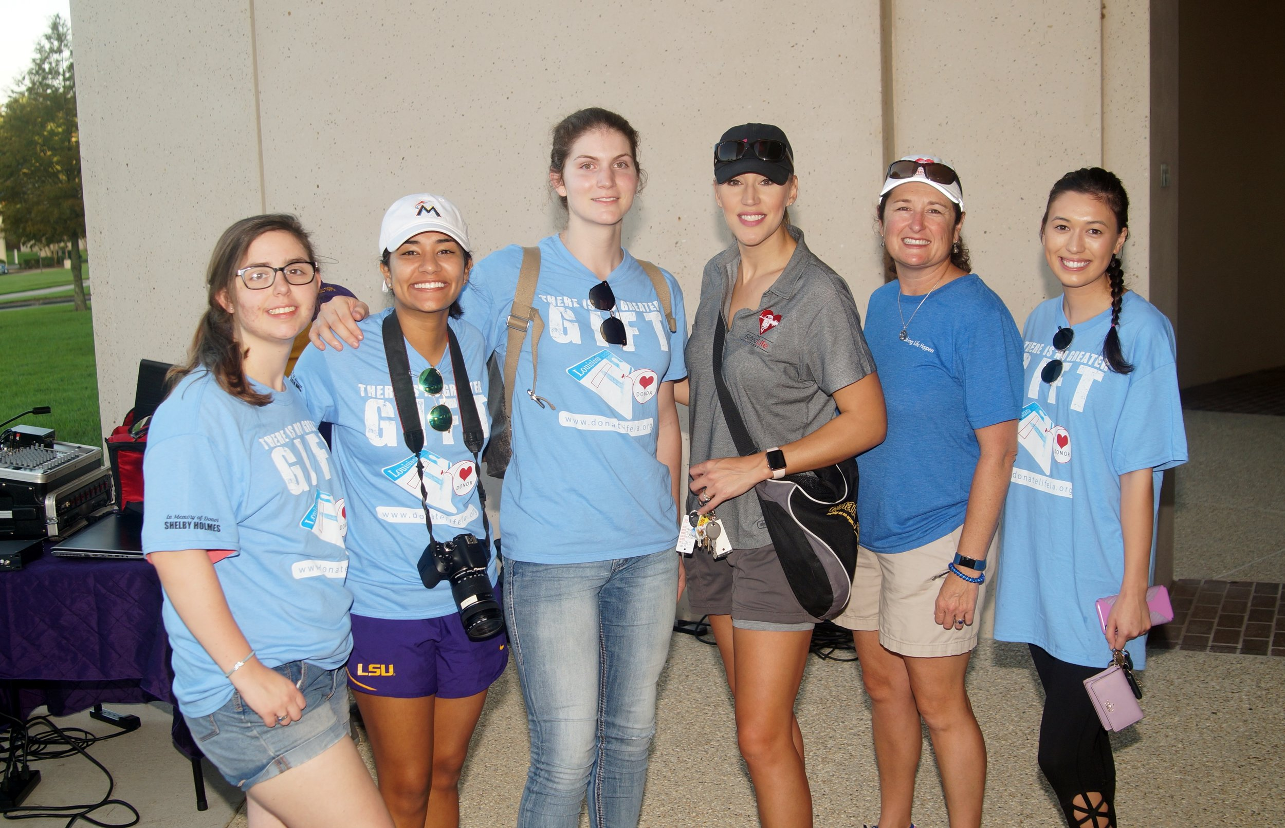 LSU Students with The Gifted Life's Lori Steele and Kirsten Heintz