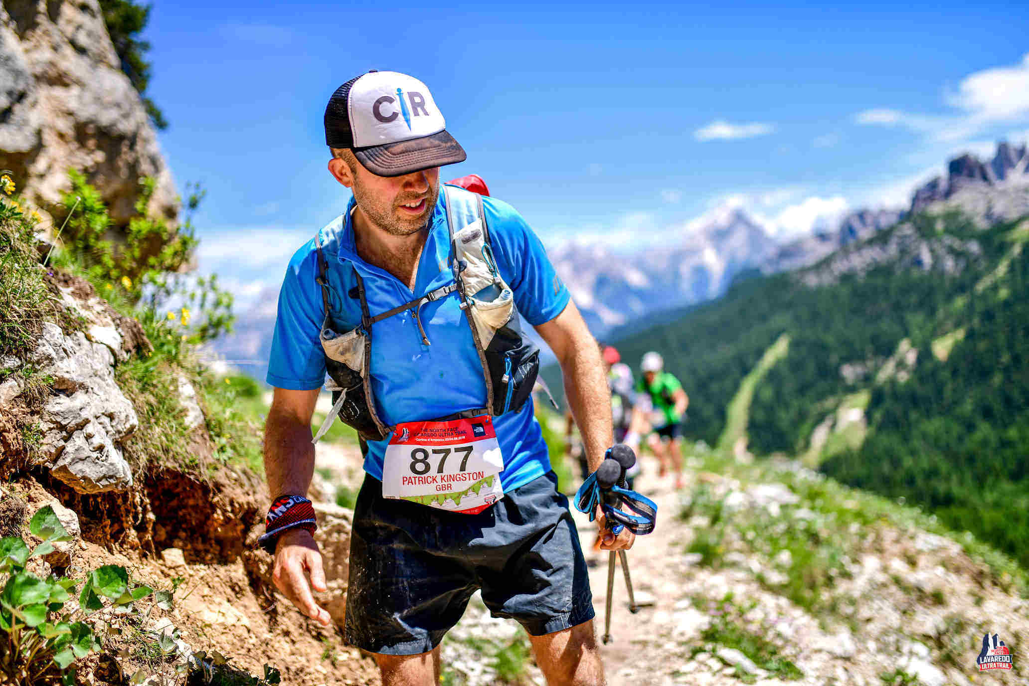 Patrick Kingston took on the  the Grand Raid des Pyrénées  Ultra in 2018. It's a race that's  164km (100 miles) long,  with more than  10,000 metres of climbing  - That's 2,000 metres higher than Everest!
