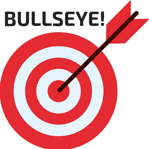 'Bullseye' was my trigger word that I used for when I started to get into a negative place in the Autumn 100 race.  But the race was going so well that I actually ended up saying' triple-20' to myself (the reason is because triple-20' is a higher score in darts than bullseye!)