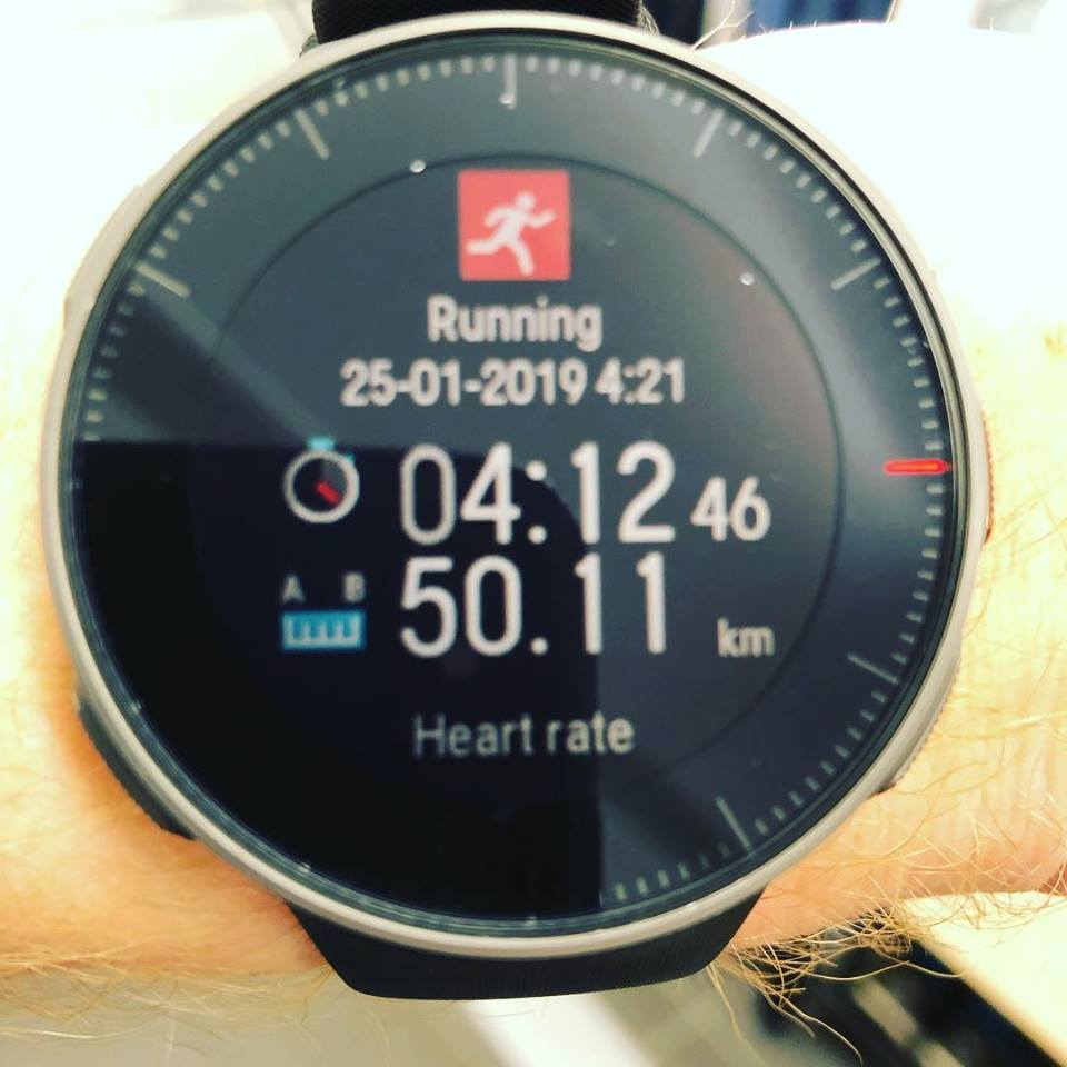 The new  Polar Vantage V  watch has given me a huge amount more power and stats. Including being able to  measure my heart rate  from my wrist. And it's got a mammoth battery life too.