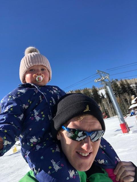 Lottie and I Having Some Qaulity Time Whilst Rosie Learnt to Ski (for JamesRunsFar.com).jpg