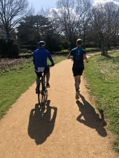202km weekend included bikes...