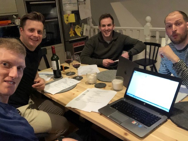 The team and I had a very successful meeting to discuss preparation for my LEJGO attempt.  Everyone loves a checklist and an excel spreadsheet!
