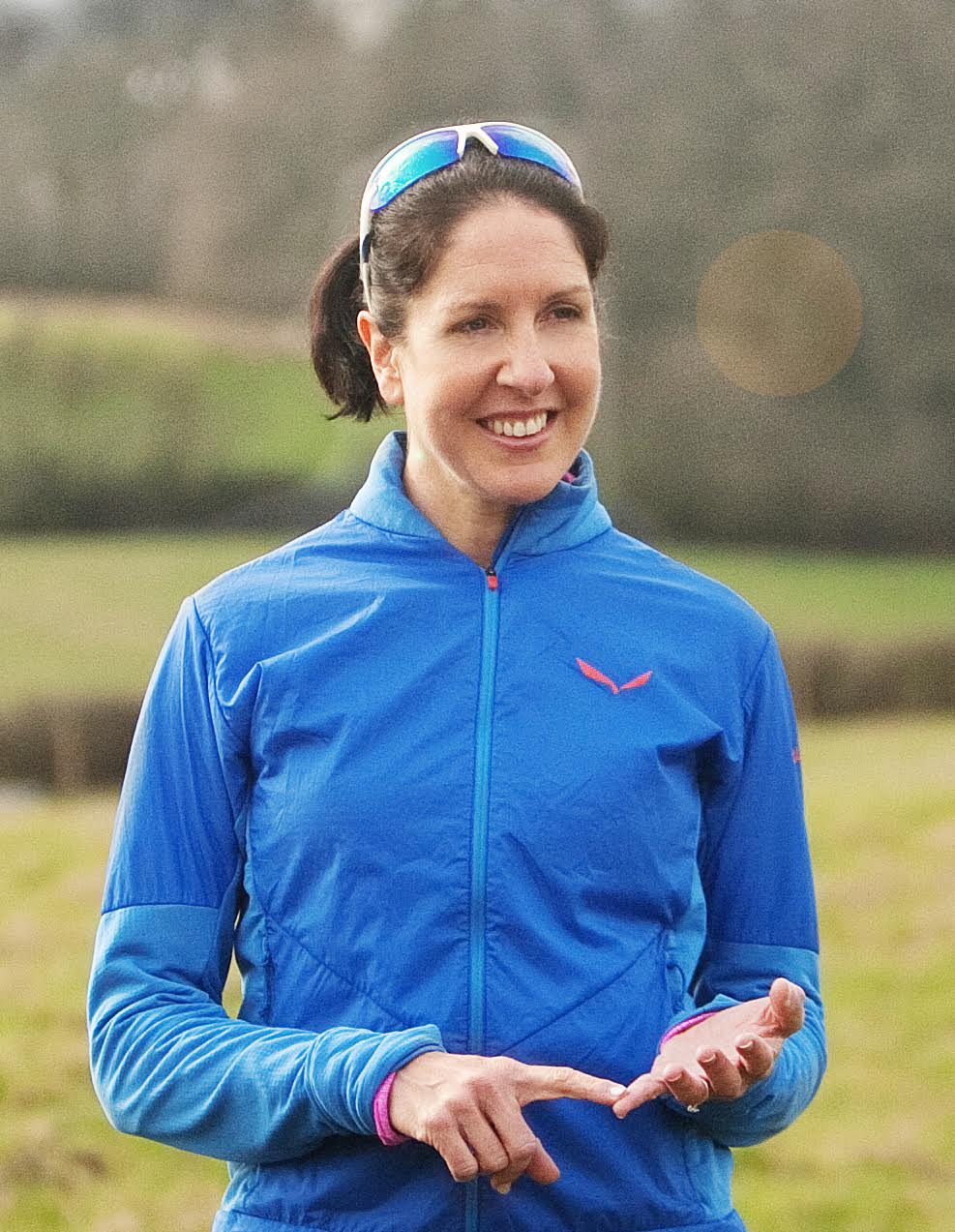 Evie Serventi is my sports psychologist  . She has taught me numerous techniques for dealing with pre-race nerves. Including 'if/ then' strategies, acknowledging successes and using visualisation