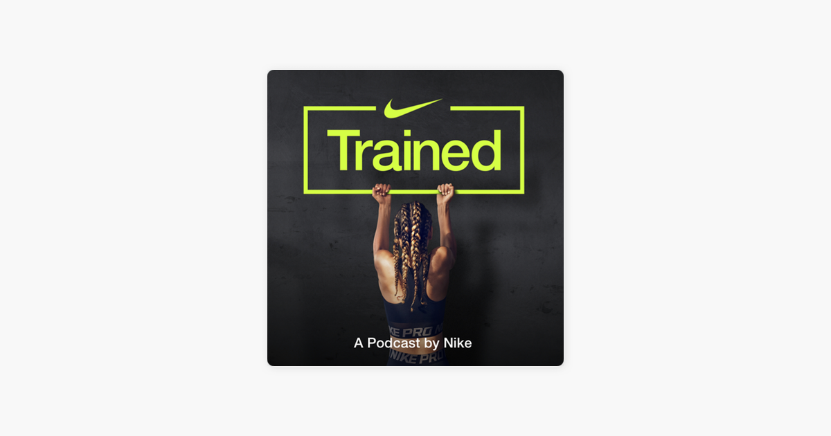 The Nike Trained podcast about sleeping better to maximise performance was one of the things I'd heard in a long time