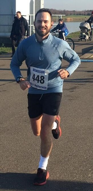 """""""I signed up for the Brighton Marathon in October 2018 and came to James to help me get over the finishing line in April 2019.    With little fitness and no prior running experience, James was excellent with my planning, preparation and nutrition.    I would strongly recommend him to anyone looking to achieve their goals for any endurance events."""""""