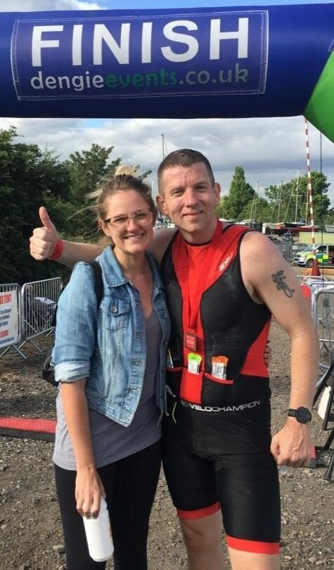 """""""I was recommended to James from a colleague who had worked with him to complete an Ironman.    Over a period of 9 months, he has inspired and coached me to finish an Ironman.    James takes a genuine interest in understanding the goals from the outset to build a tailored and workable plan. Building the plan together has allowed us to push boundaries of what I believed was possible and forms the foundation of success.    With regular check-ins to understand how the training is going, it enables him as a coach to modify in line with my everyday commitments and requirements.    As part of these conversations, he is always asking great coaching questions to see how things can improve and then tailor the program to suit.    Under his tutoring, there have been significant gains across all aspects of my training. I'm regularly setting personal bests both in time and distance and feel stronger and fitter than I've ever been before.    James advises not only on the physical requirement of completing the Ironman but also the psychological and nutrition elements too.    With such a high level of credibility coming from having 'been there and done that' it is reassuring that all guidance comes with personal knowledge and experience.    I can't recommend James highly enough as a coach. I feel he takes a personal and genuine interest in my goals and has built a plan that will allow me to achieve them."""""""