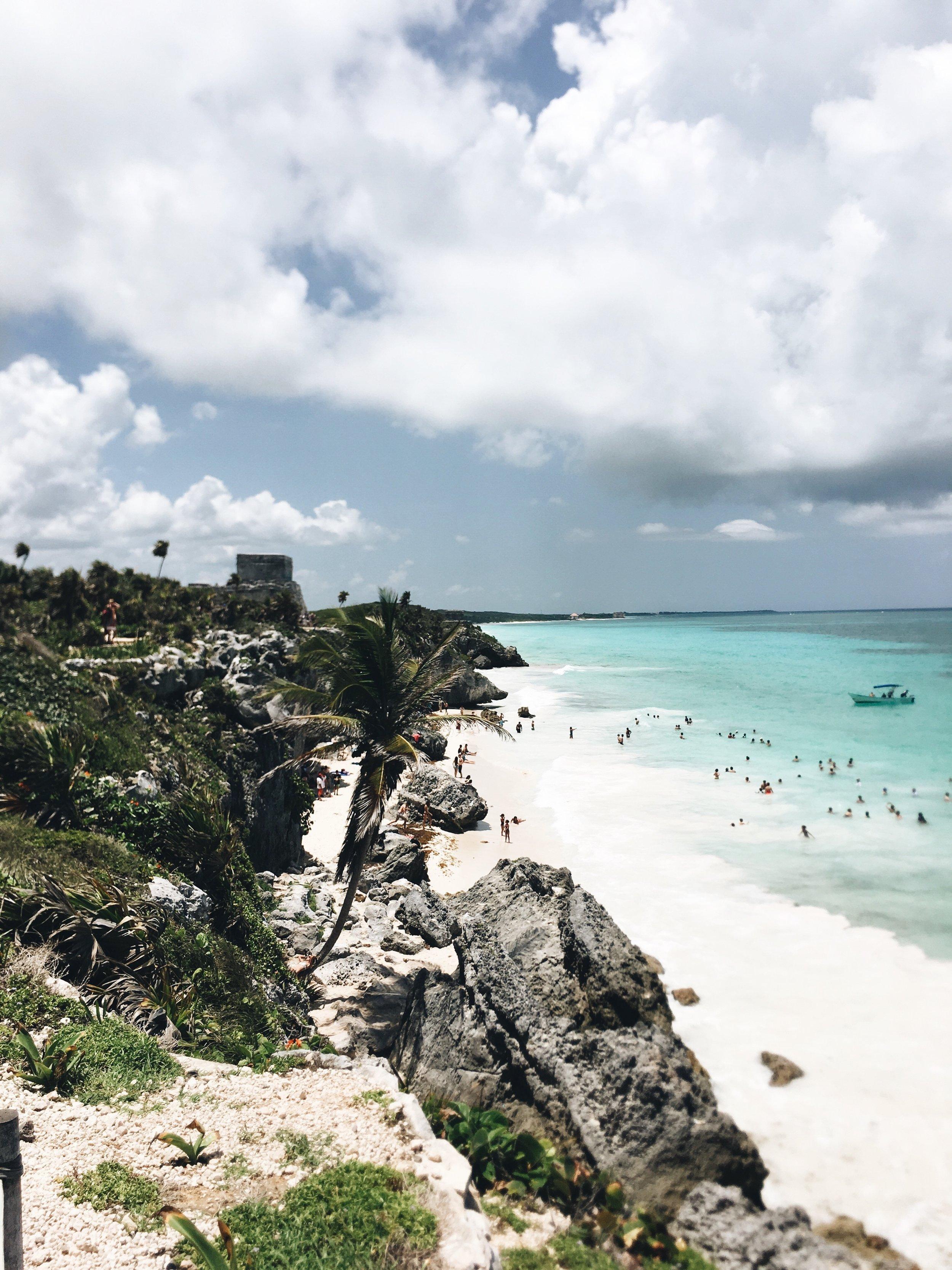 Not one bad view at the Mayan Ruins.
