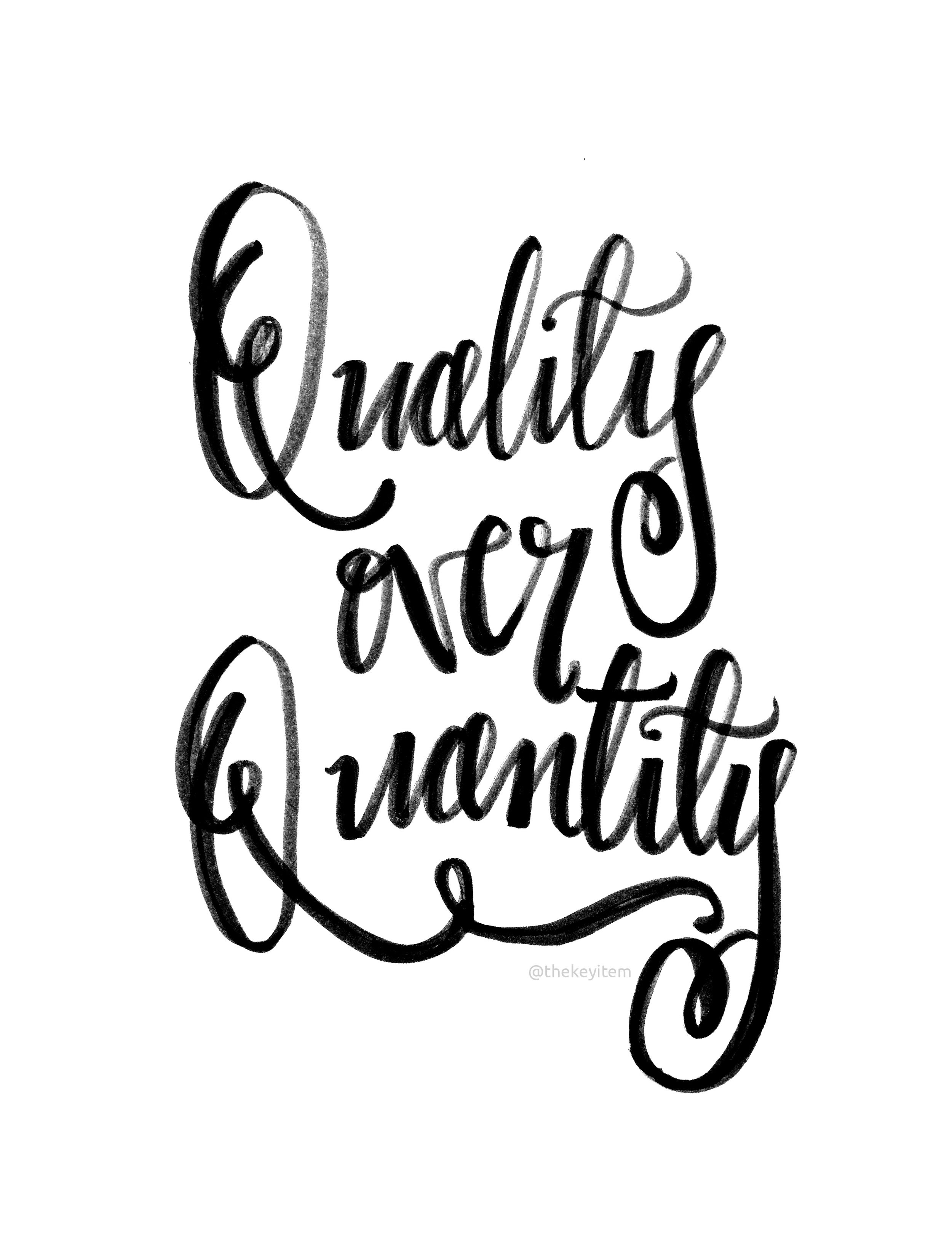 Hoy en dia, estamos enfocado en un número y eso esta mal. ¿Por qué debes parar e iniciar a trabajar por calidad sobre cantidad?