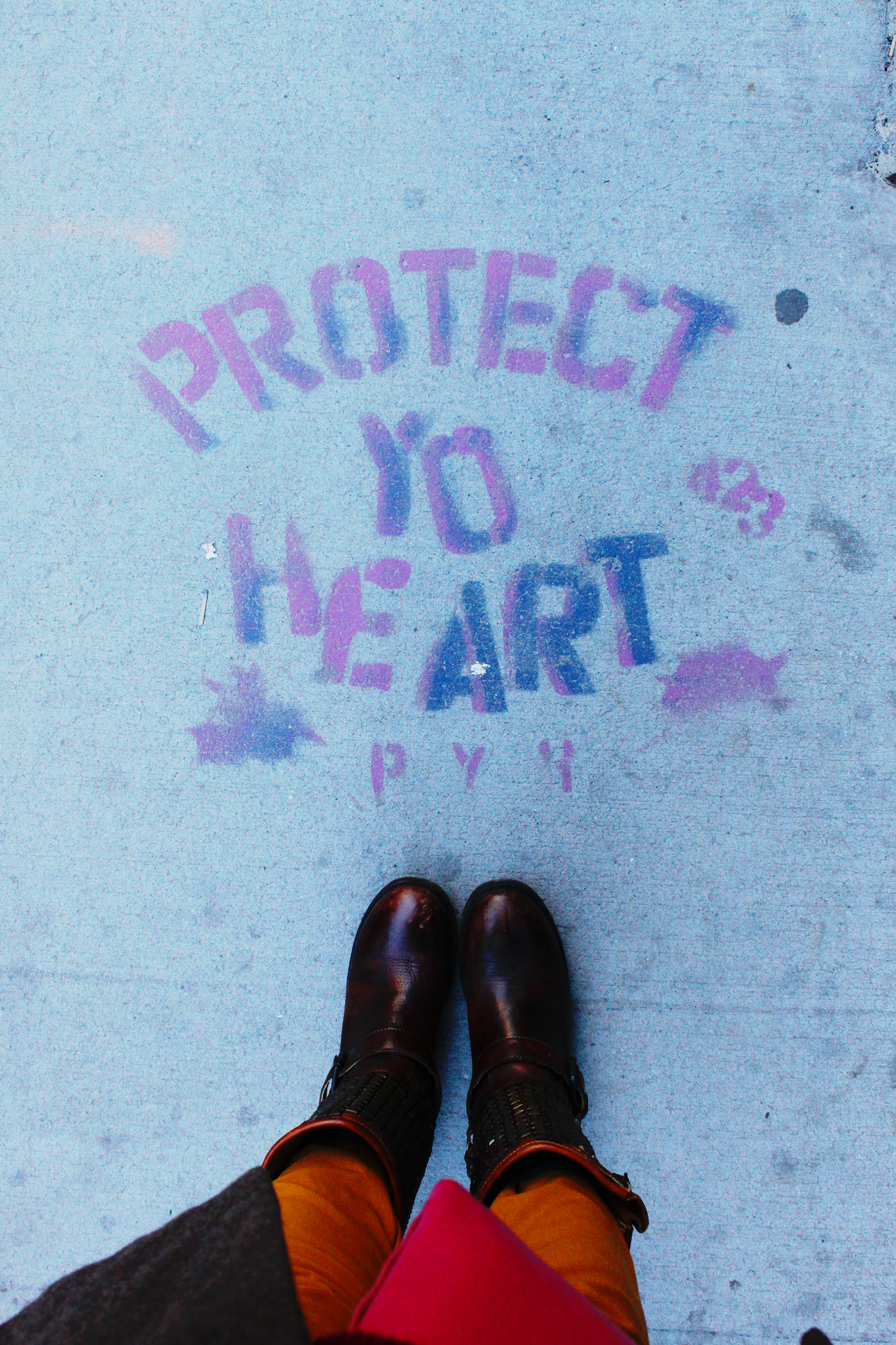 Protect Yo Heart | - 66 Water St, Brooklyn