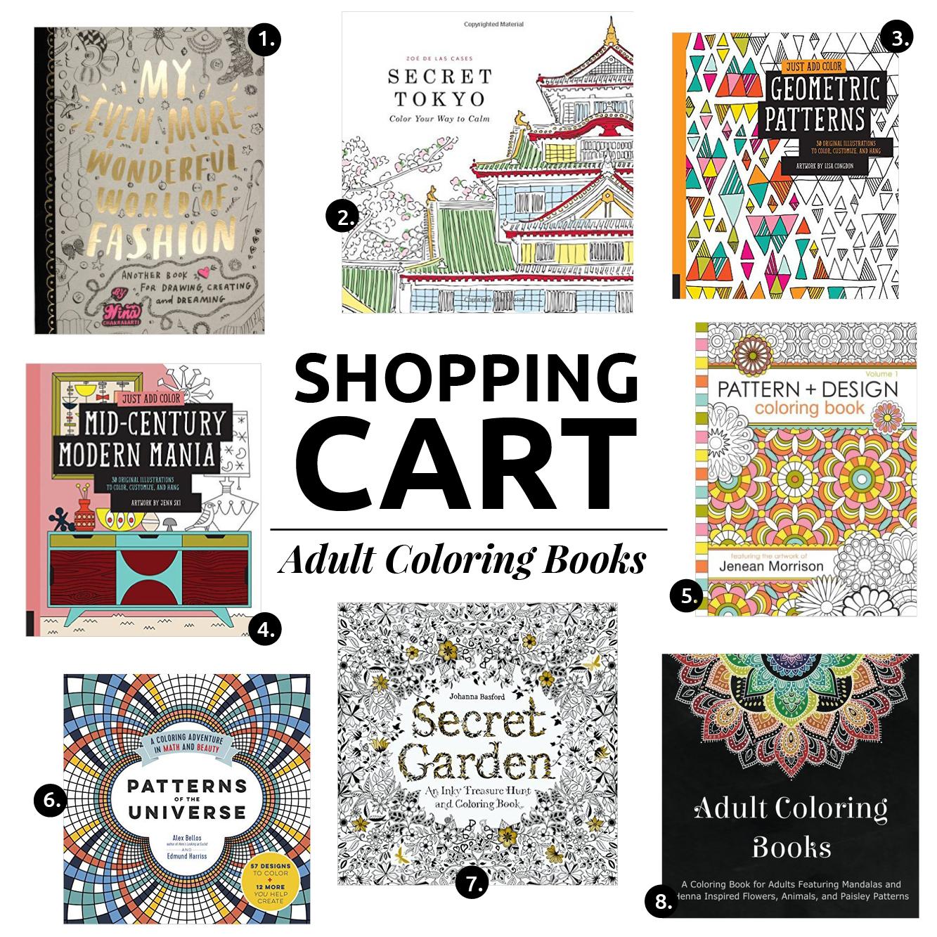 8 LIBROS DE COLOREAR PARA LIBERAR EL ESTRES Y LA ANSIEDAD // ¿Has intentado usar libros para colorear para adultos? Como artista y creativa, lucho con ansiedad por lo que este libro me ha ayudado mucho!