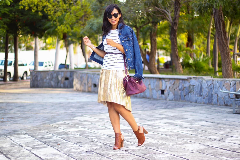 LUCIENDO UN VESTIDO METÁLICO DURANTE EL DÍA // ¡Usando un vestido metálico durante el día puede sonar como una locura, pero si sigues estos pasos lo vas a lucir como una 'pro'!