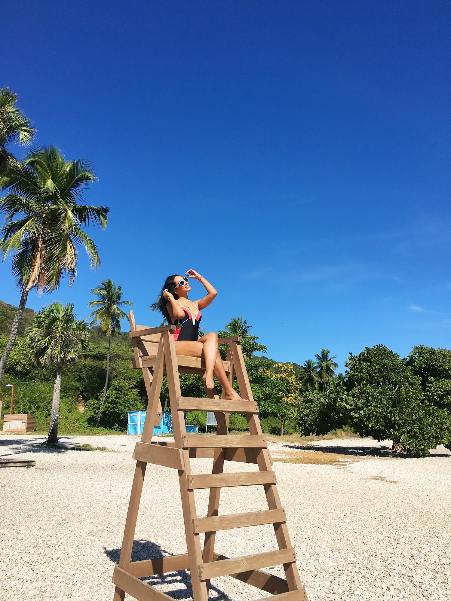 BayWatch en Playa Quemaito - Barahona, República Dominicana