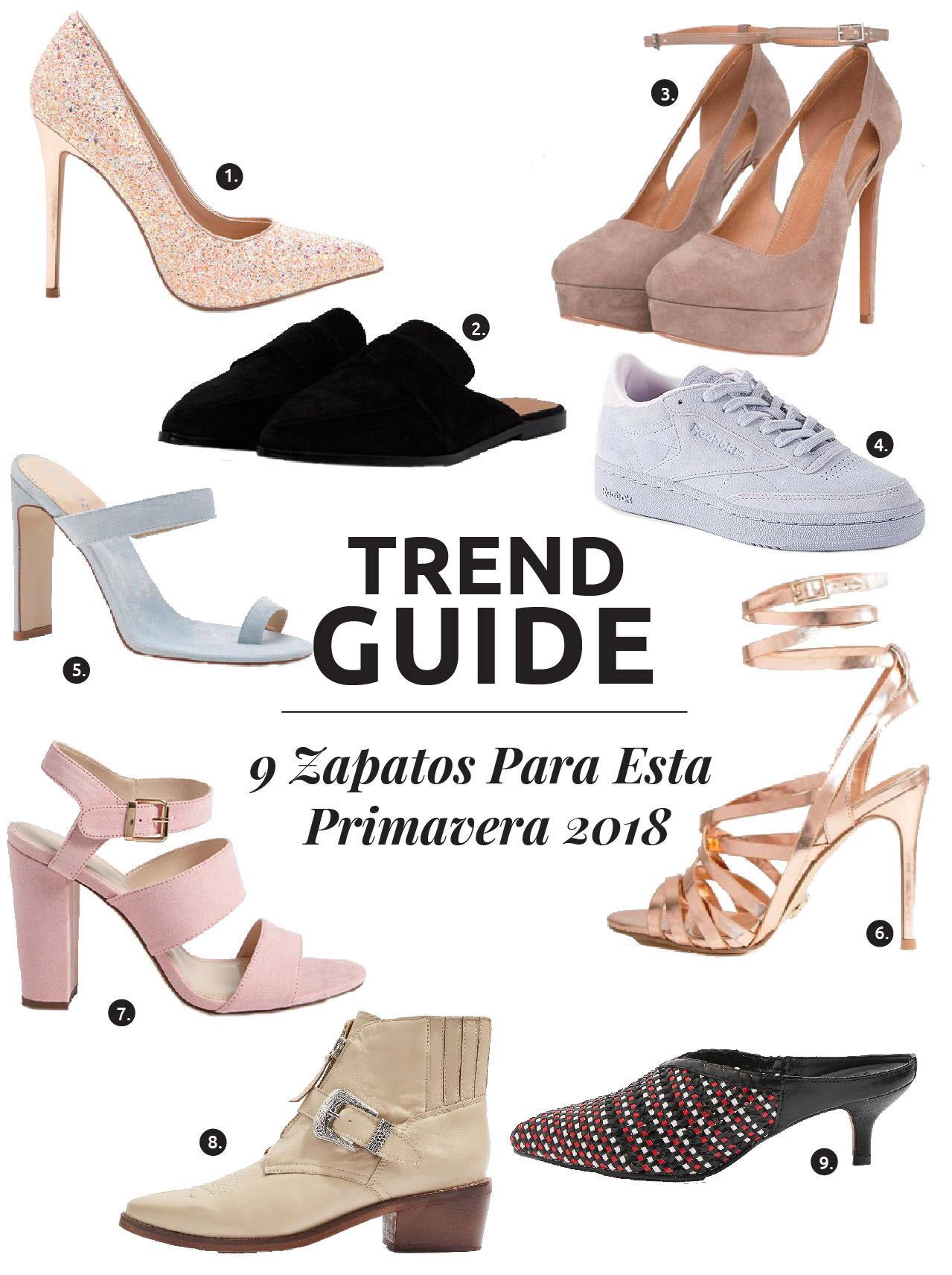 ESTA PRIMAVERA - hay algo para cada quien.Hoy hablo sobretendencias de zapatos que puedes lucir esta temporada.