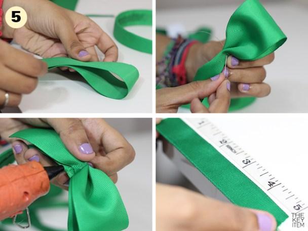 Hazlo Tu Mismo -Cintillo de Lazo inspirado en Louis Vuitton