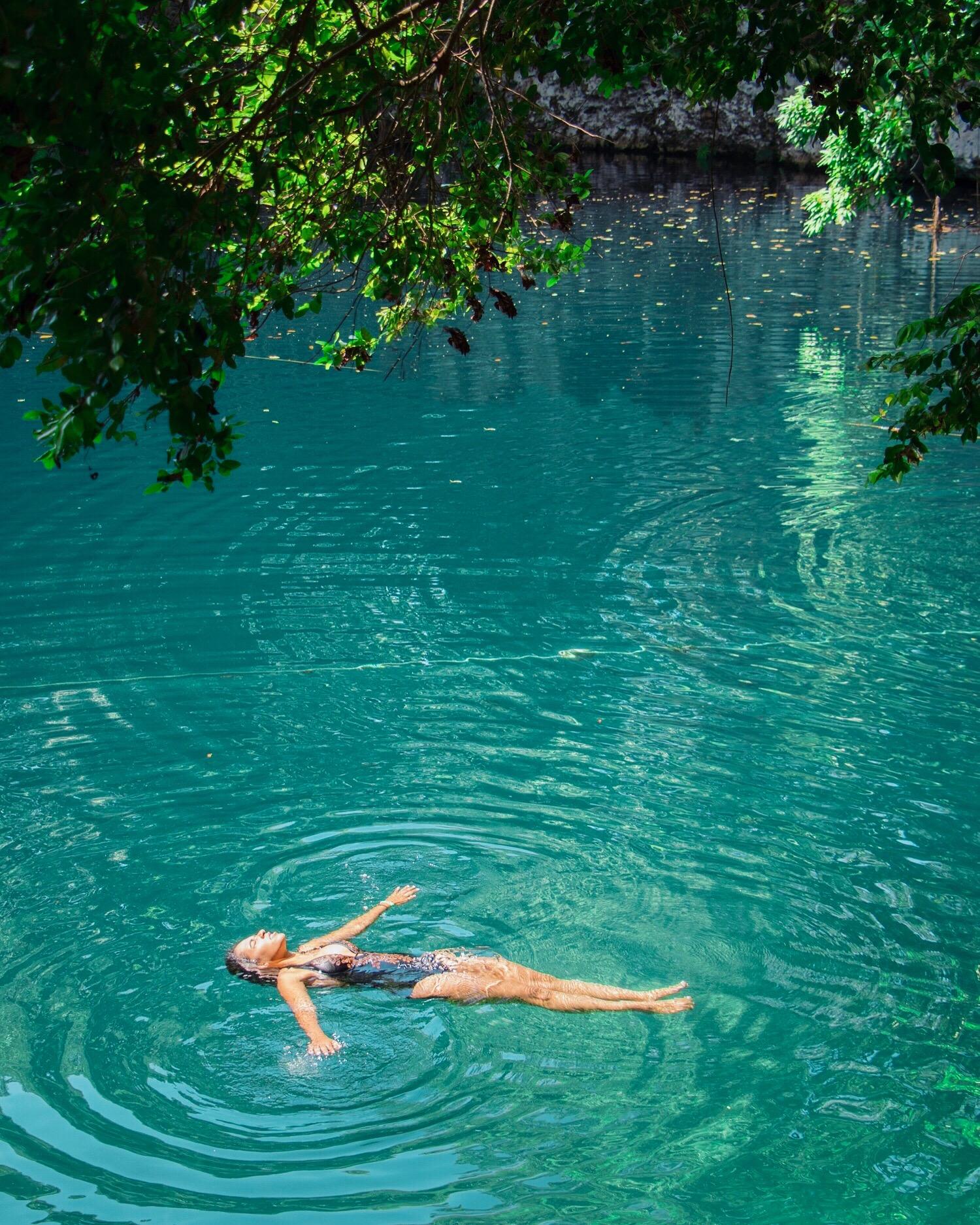 Vista de la Laguna Dudú -