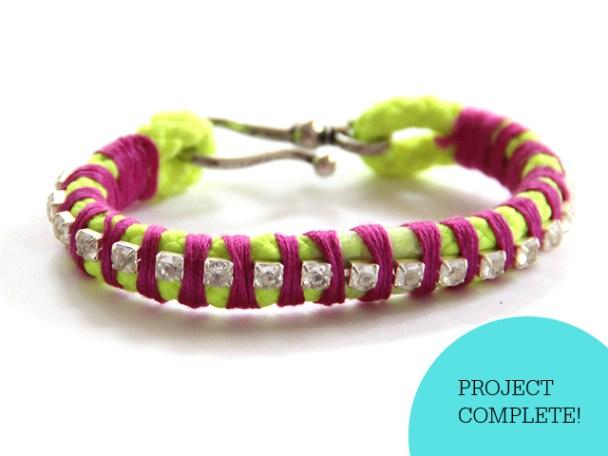 Hazlo tu mismo, en esta ocasión, te comparto mi manera de crear brazaletes super cool y facil.