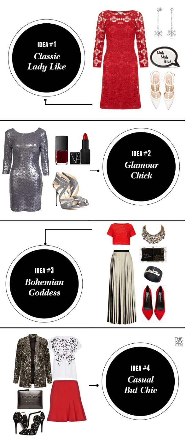 4 Ways To Wear Red On The Holidays