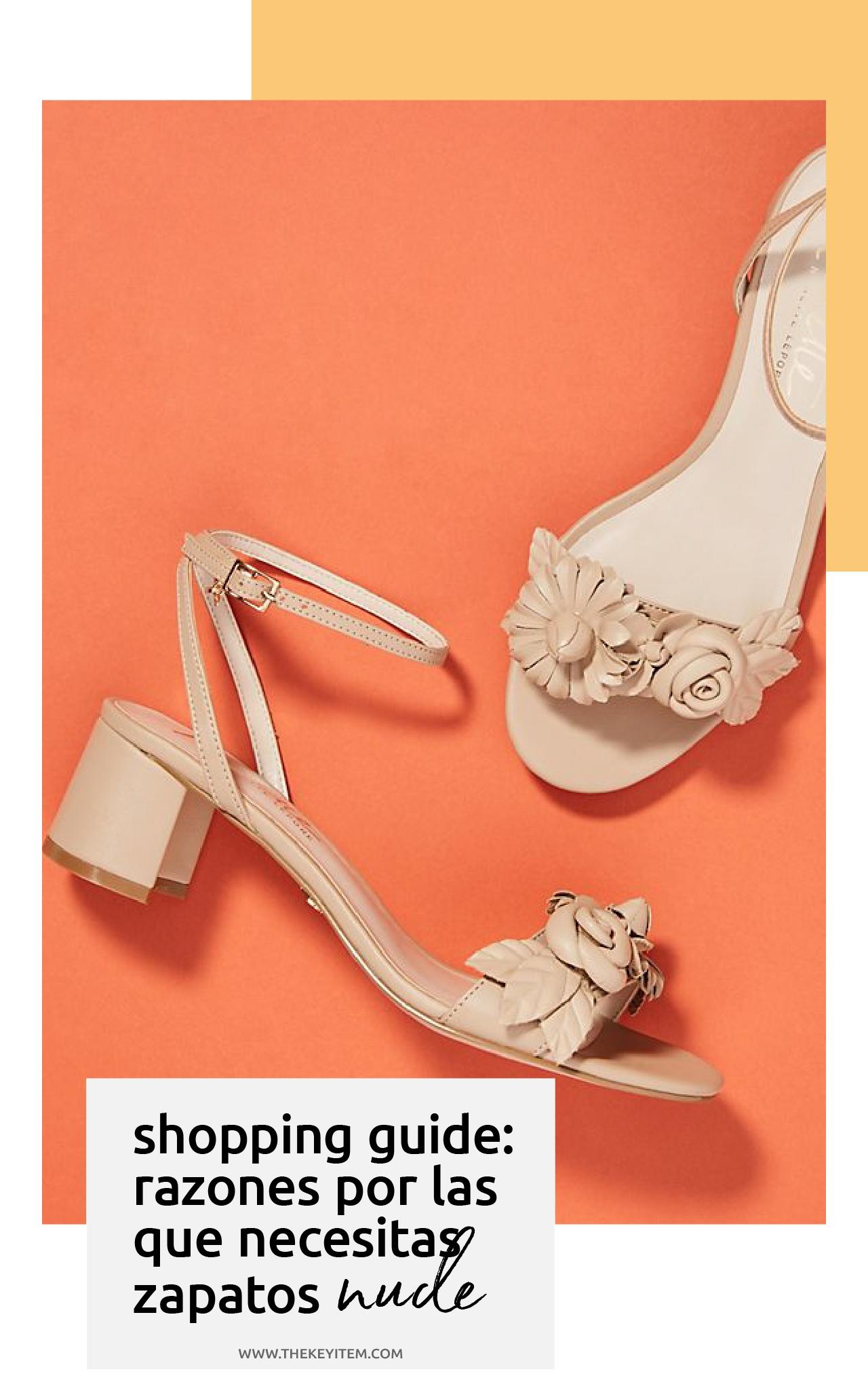 3 Razones Porque Necesitas Unos Zapatos Color Piel | www.thekeyitem.com