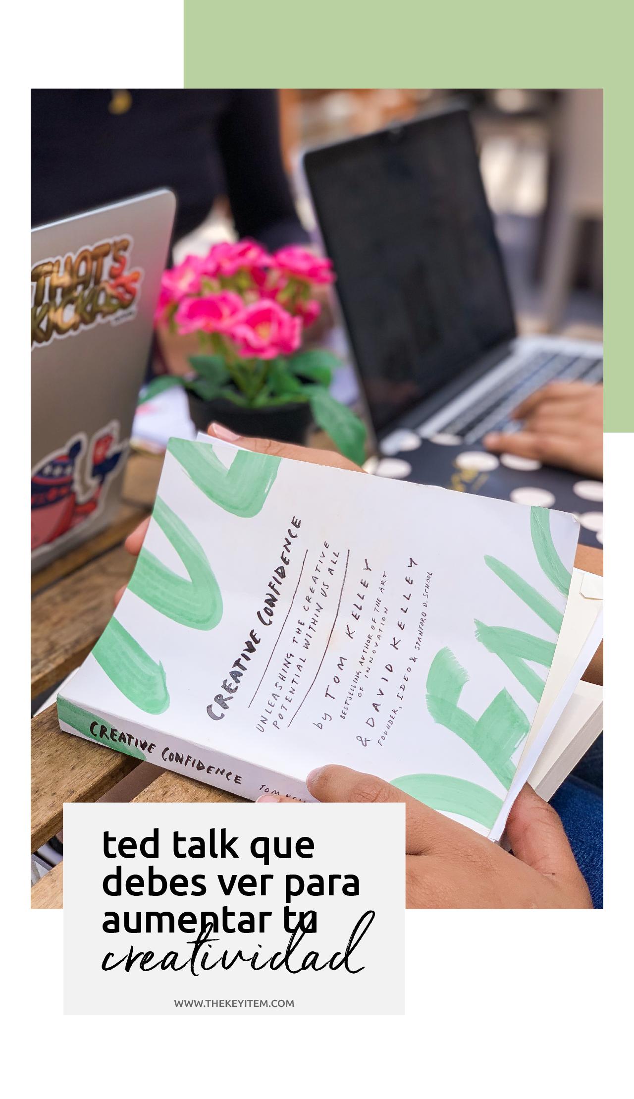 ¡Ted Talk sobre creatividad! Desarrolla tus ideas de la mejor manera usando estos vídeos como inspiración.