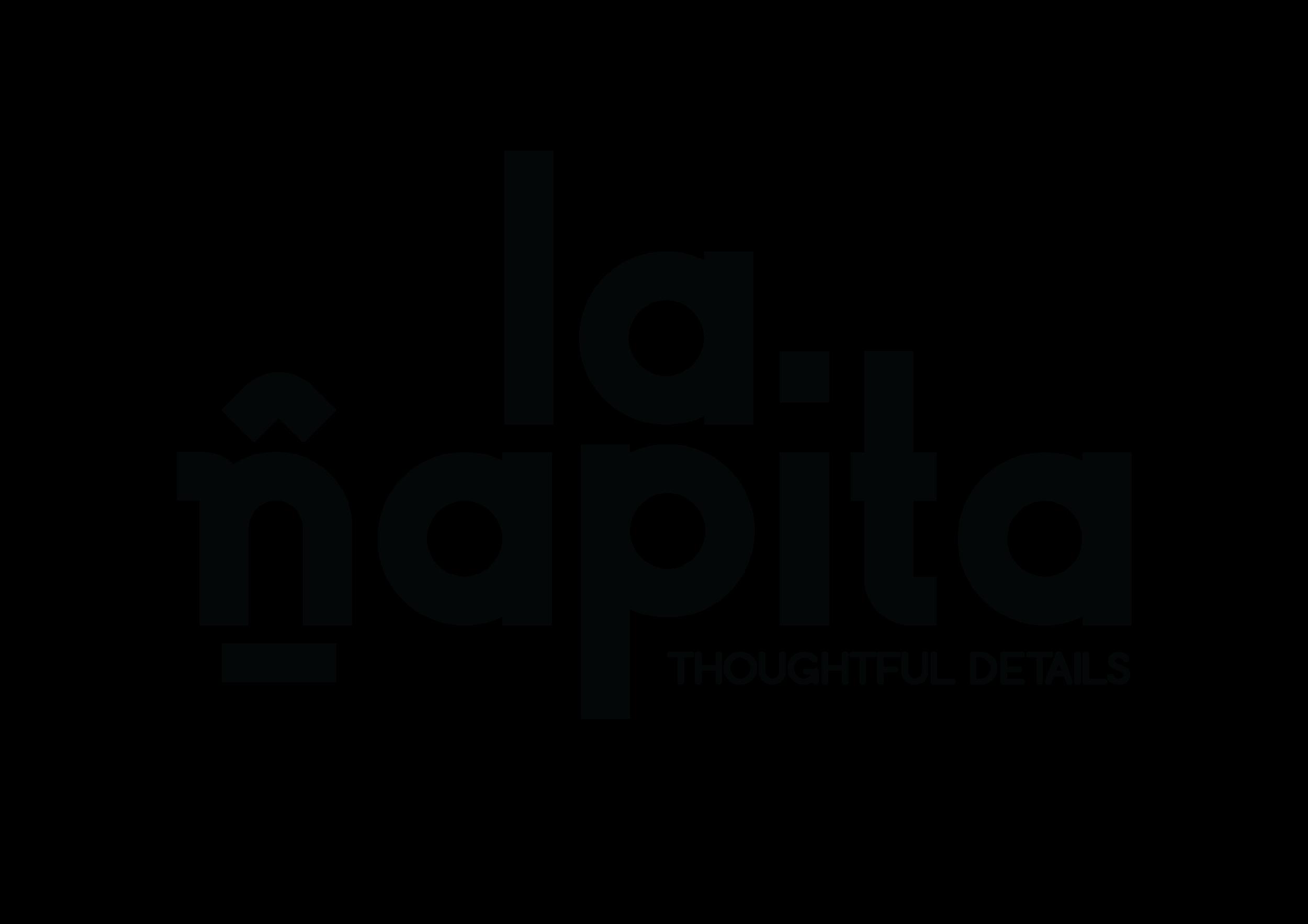 Logo - La Ñapita Black.png
