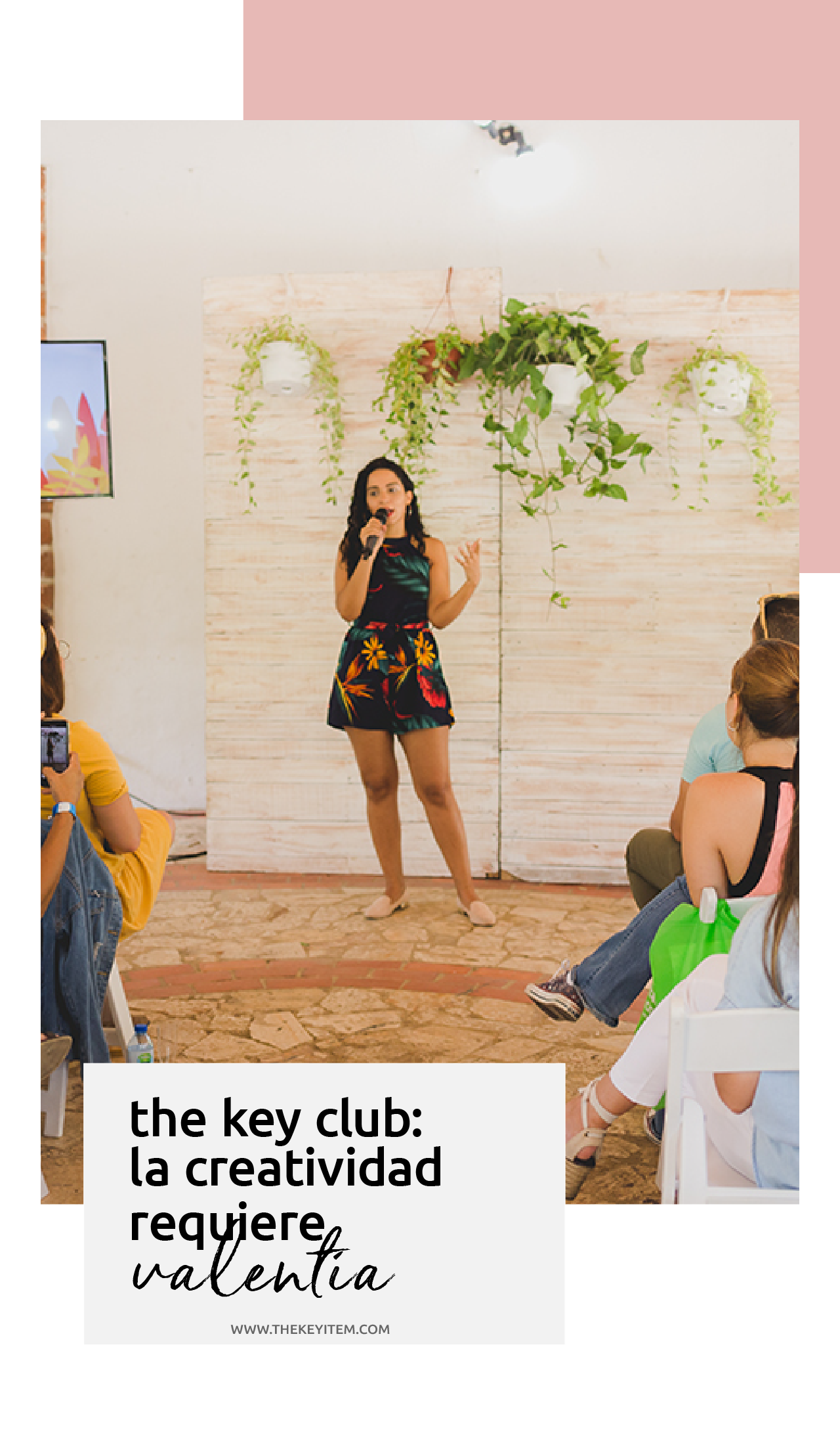 Desde ser criticados hasta el miedo al fracaso ¿cómo lidiar con esas emociones? De eso se trató este Workshop Creativo dentro del The Key Club. Descubre el recap de la actividad.