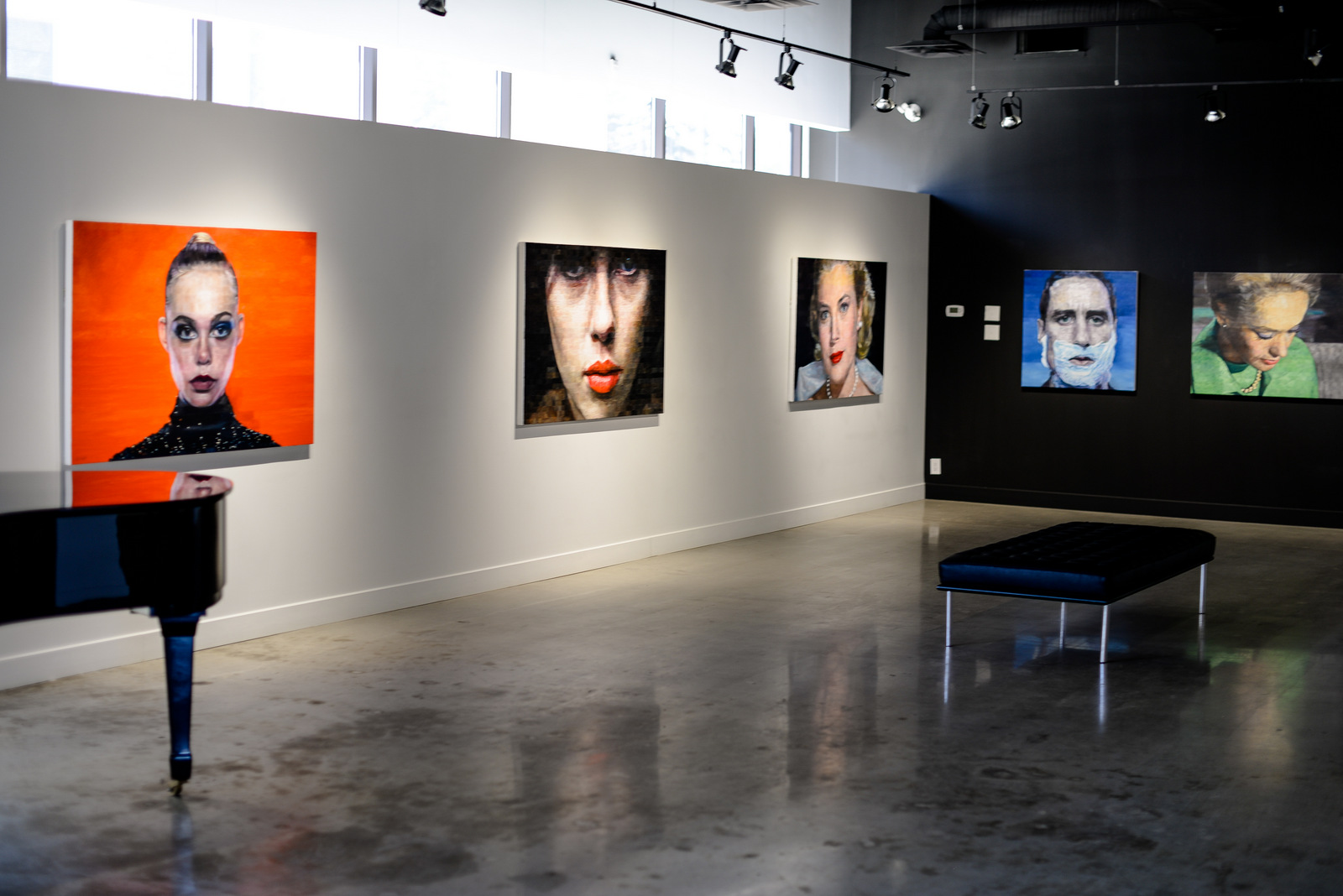 Big Screen TV – Robert Lemay Exhibition at The Front Gallery, March 22, 2018