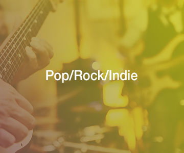 Pop / Rock / Indie live music bands